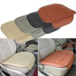Universal Seatpad PU Leather Car Seat Covers for Auto Car Office Chairs Interior