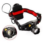 Q5 LED Head Lamp Light Zoom Zoomable Headlight Headlamp Torch