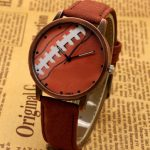 Canvas Strap Basketball Dial Men Women Wrist Watch