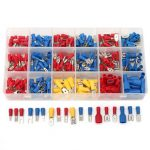 330Pcs 18 Kinds Assorted Crimp Terminals Insulated Electrical Wiring Connector