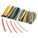 140Pcs Halogen-Free 2:1 Heat Shrink Tubing Wire Cable Sleeving Wrap Wire Kit