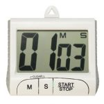 Digital LCD Electronic Timer Stopwatch Countdown Count Up Magnetic